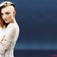 Natalie Dormer shaved undercut hairstyle