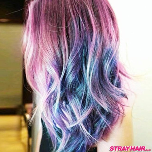 amazing aurora borealis hair color – strayhair