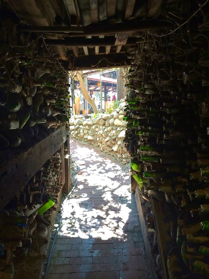 Bottle Hall Escape Passage