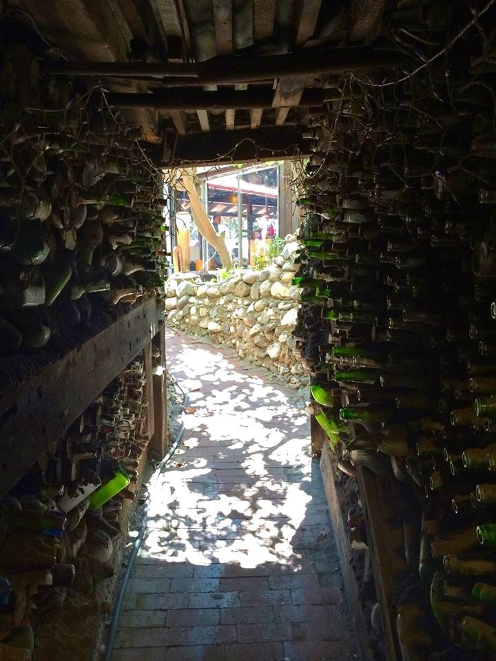 Bottle Hall Escape Passage