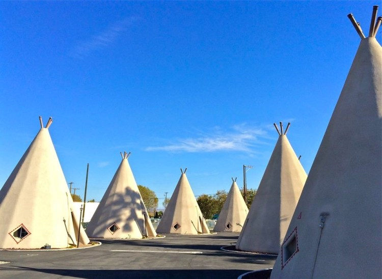 "The Wigwam Motels, also known as the ""Wigwam Villages"", is a motel chain in the United States built during the 1930s and 1940s. The rooms are built in the form of tipis, mistakenly referred to as wigwams."