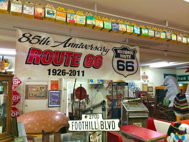 Where the Route 66 & McDonald's museum intersect.