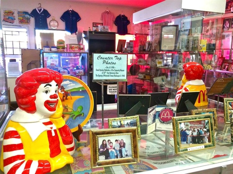 An explosion of McDonald's history greets you as you enter the museum.