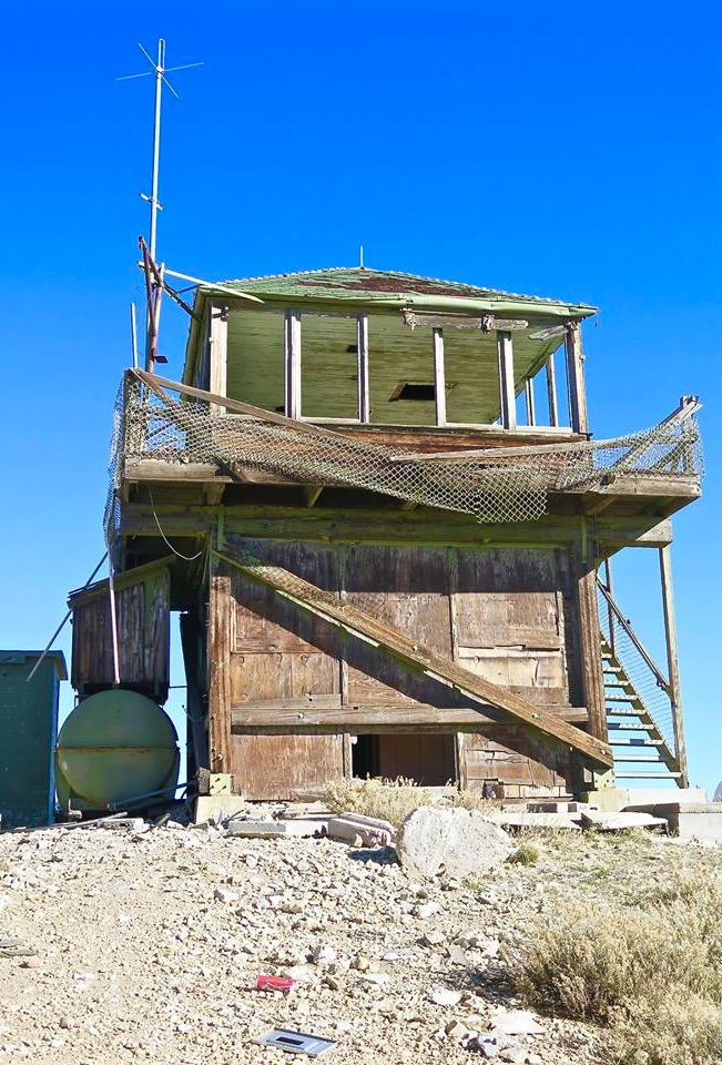 """Such is the case with this beauty, the now abandoned Frazier Mountain Fire Lookout located high on a peak above Frazier Park, CA. I just happened to be driving by the area on my way to visit Working Wildlife when I spotted a sign that said """"Fire Lookout."""