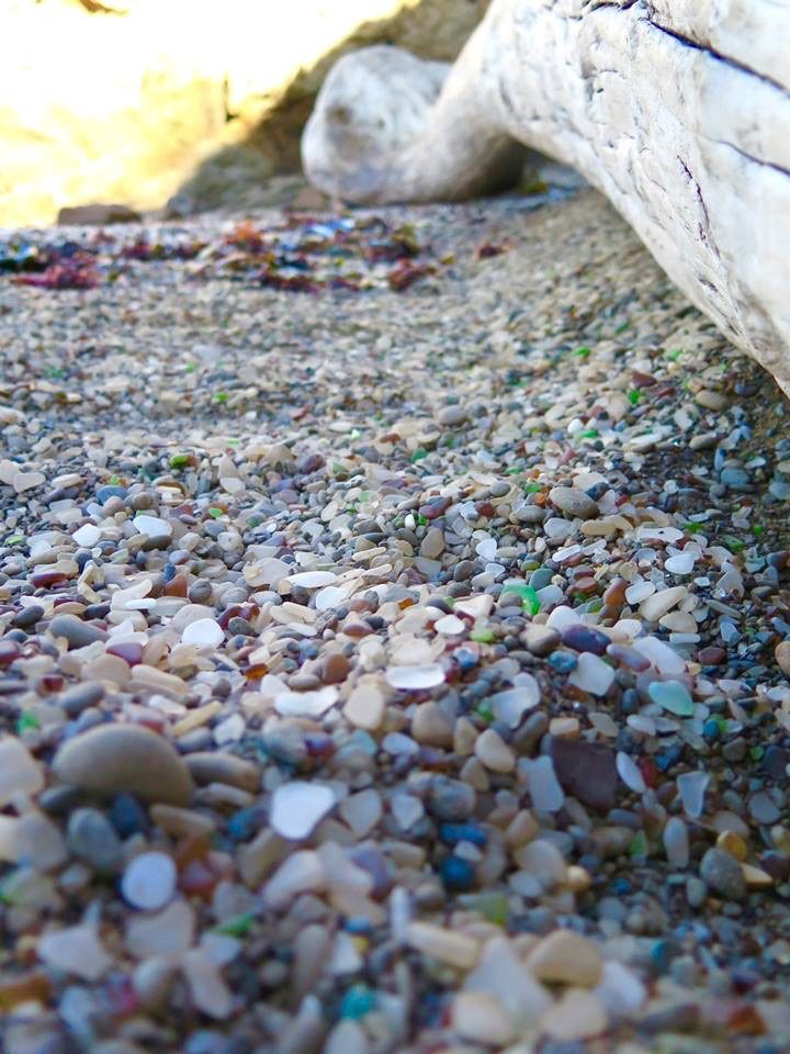 For many, the destruction of Glass Beach is ironic, as it was the human penchant for destruction that created the beach in the first place.