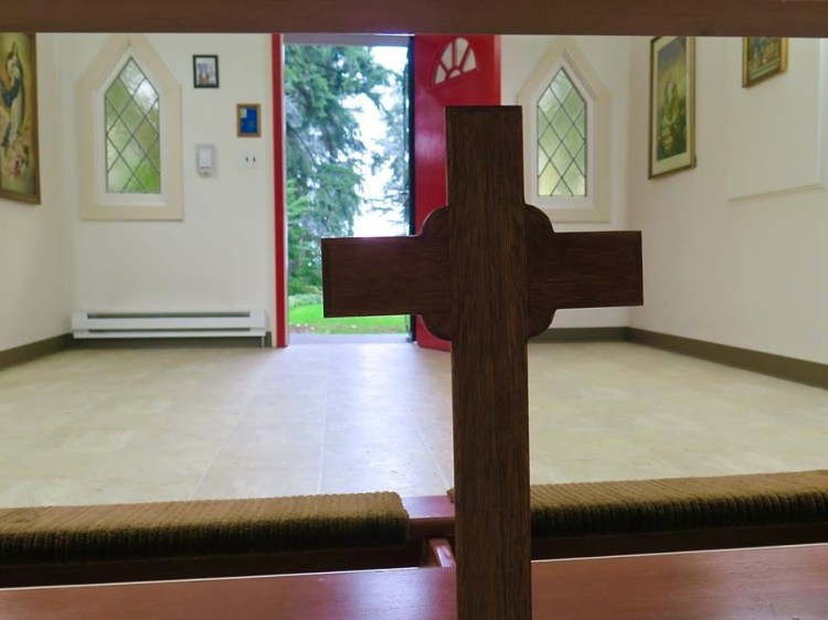 ...it continued to serve as a chapel until the Chapel of Mary was built on the lower level.