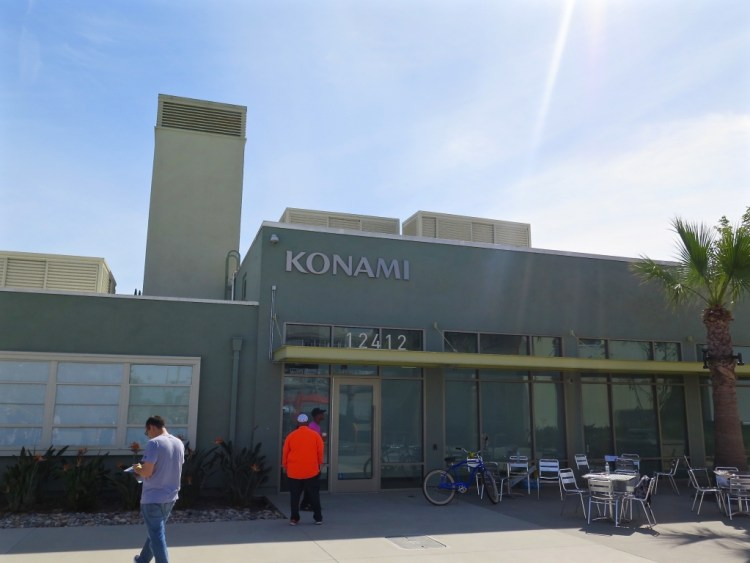 One of the first companies to move into the newly renovated buildings was Japanese game maker Konami, who are now located in the old HAC firehouse.