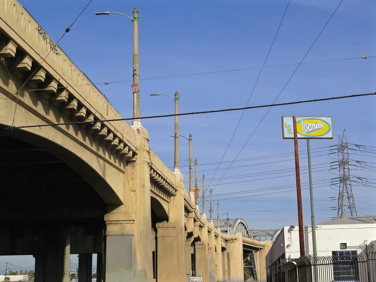 The 3,500-foot-long bridge, officially known as the Sixth Street Viaduct, is being replaced with a new, modern span because its concrete has cracked and continues to deteriorate, making it vulnerable to an earthquake.
