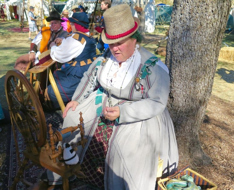 The festival does a good job at recreating the magic and revelry of an Elizabethan faire and marketplace.