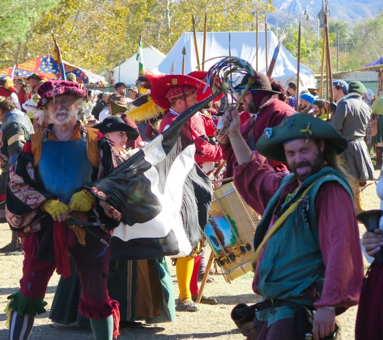 The festival is an offshoot of the Original Renaissance Pleasure Faire which began in 1963 in Agoura , CA.
