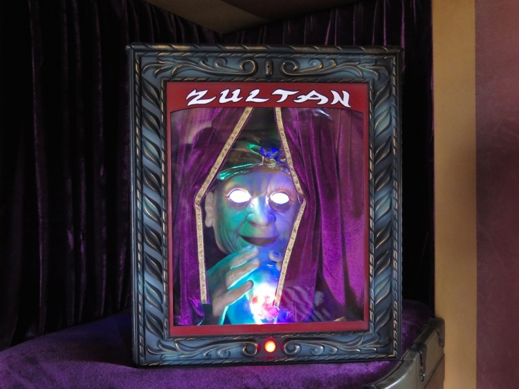 It also came with a personal mini-Zultan fortune teller.