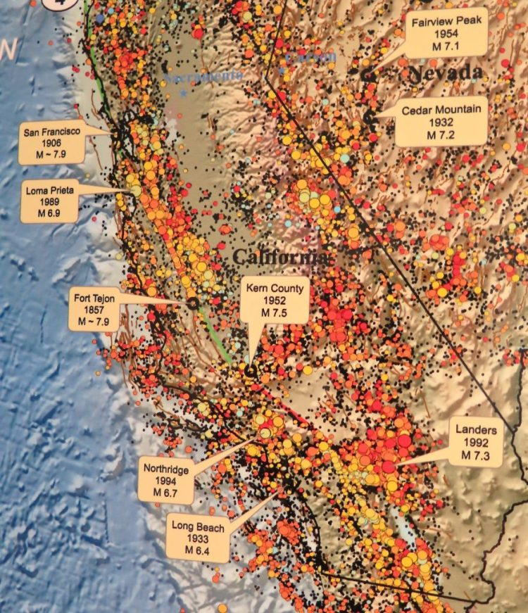 ...and one showing California's scary earthquake history