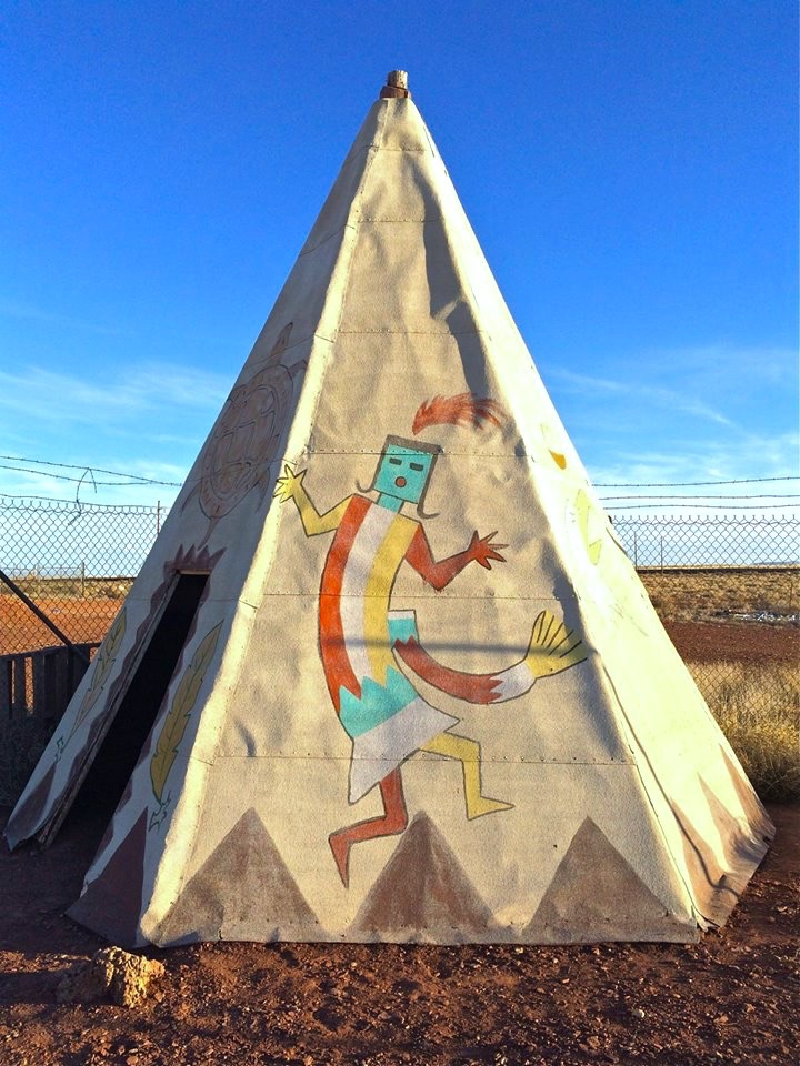 Teepee Dancer