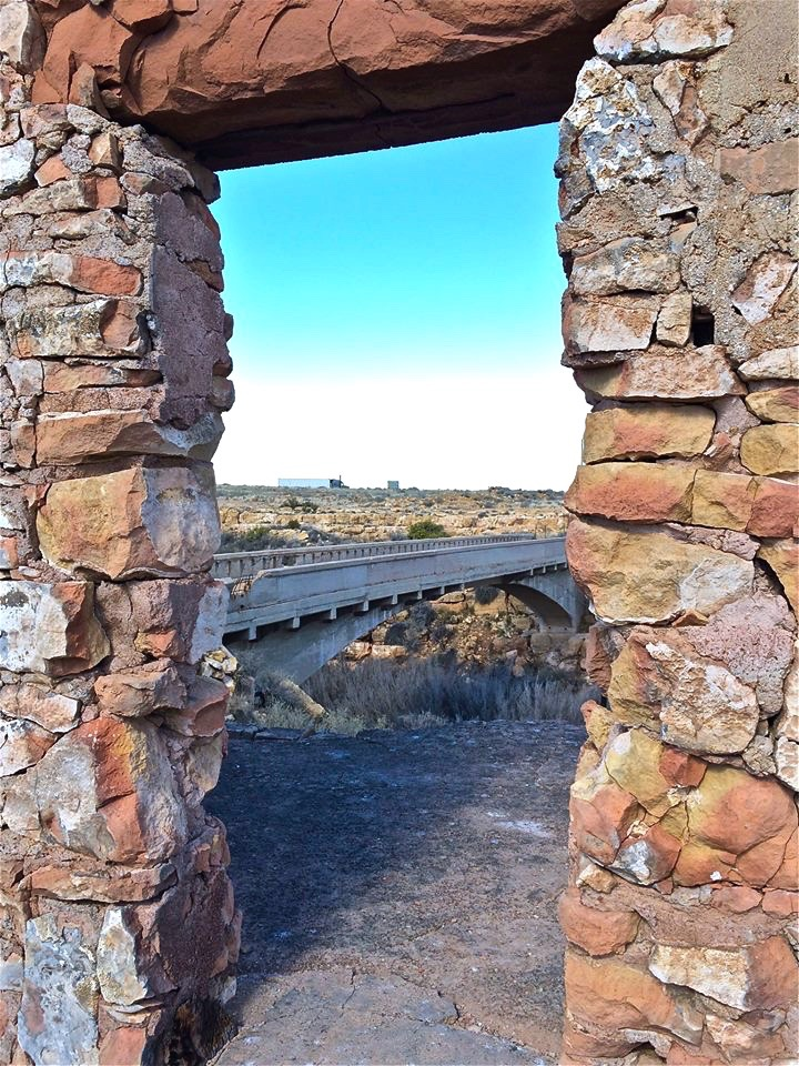 It all started after the bridge that crosses Canyon Diablo was installed in the mid-1910s. Two homesteaders, Earl and Louise Cundiff, moved there in the 1920s and bought out a local prospector who had set up shop along the National Old Trails Highway.