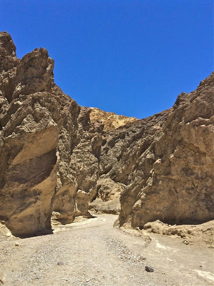 One of the main hikes for anyone who is thinking about visiting Death Valley needs to be the Golden Canyon Hike.