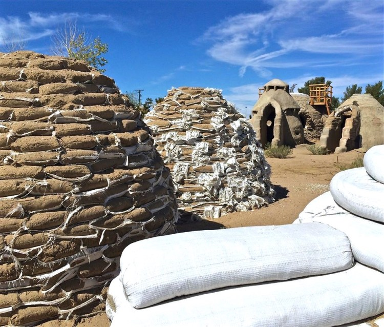 Sand Bag Domes