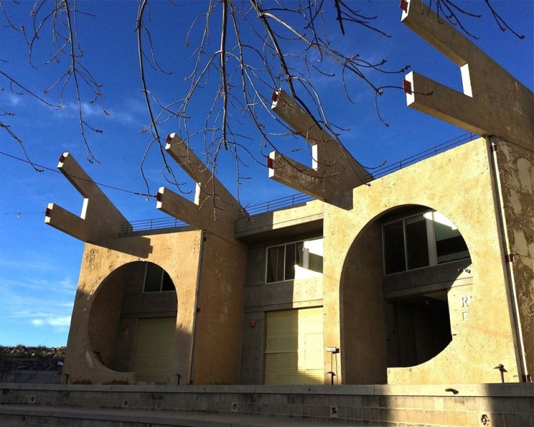 At the present stage of construction, Arcosanti consists of a dozen mixed-use buildings constructed by 7,000 past workshop participants.