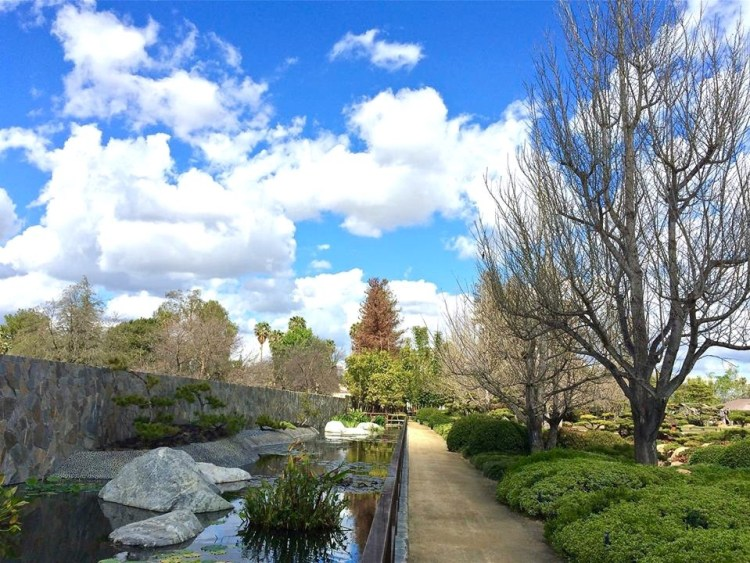 The 6.5 acre garden was designed by world-famous designer Dr. Koichi Kawara and dedicated in 1984.