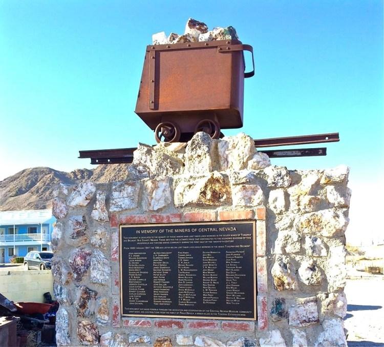Central Nevada Miner Memorial