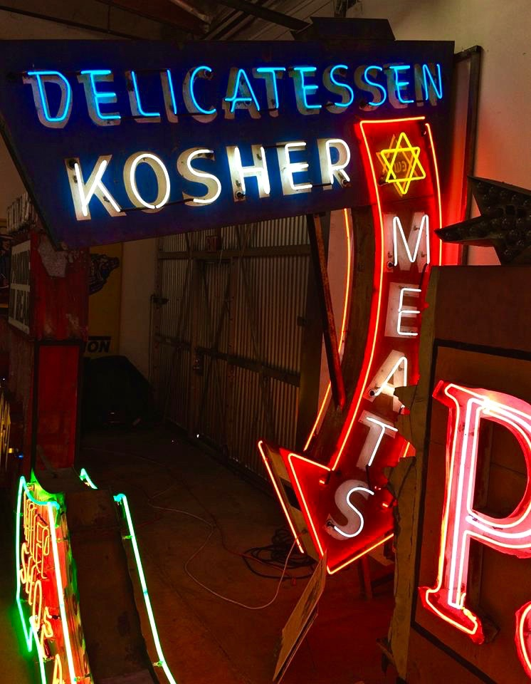 The museum's walls are filled with vintage signs that once drew customers to the Valley Ranch Barbecue in Lake Balboa, Northridge's White Horse Inn, Chez Nous in Toluca Lake and the Palomino country bar in North Hollywood.