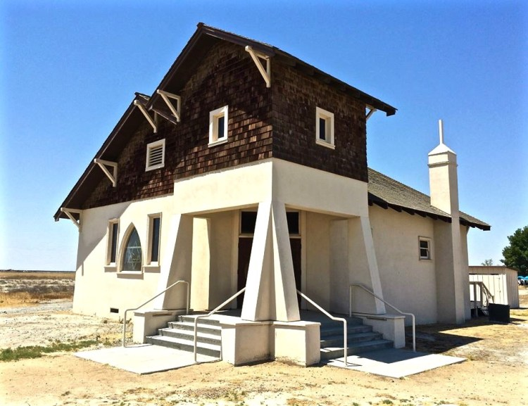 Colonel Allensworth donated this property for a church to the Northern California Baptist Convention in August 1914. The Colonel's tragic death a month later spurred the community to build the church. Construction began in 1915, under the direction of Reverend J.L. Allen, a missionary pastor for the Baptist group.