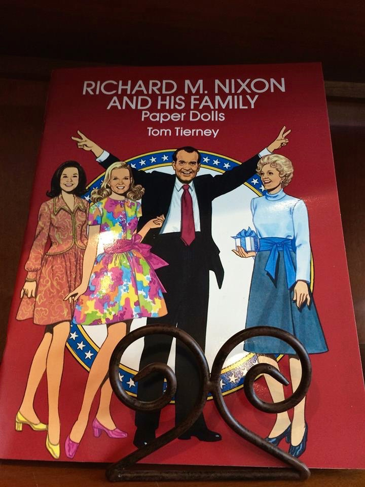 Don't forget to pick up a Nixon family paper doll book on your way out through the gift shop. A true classic. Tag PhotoAdd LocationEdit