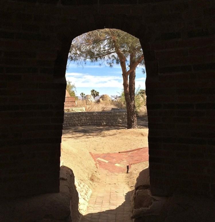 Brick Dome Interior