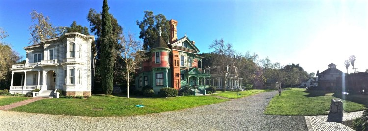 """The Hale House is often called """"the most photographed house in Los Angeles"""" due to all the movies, television shows and commercials it's appeared in."""