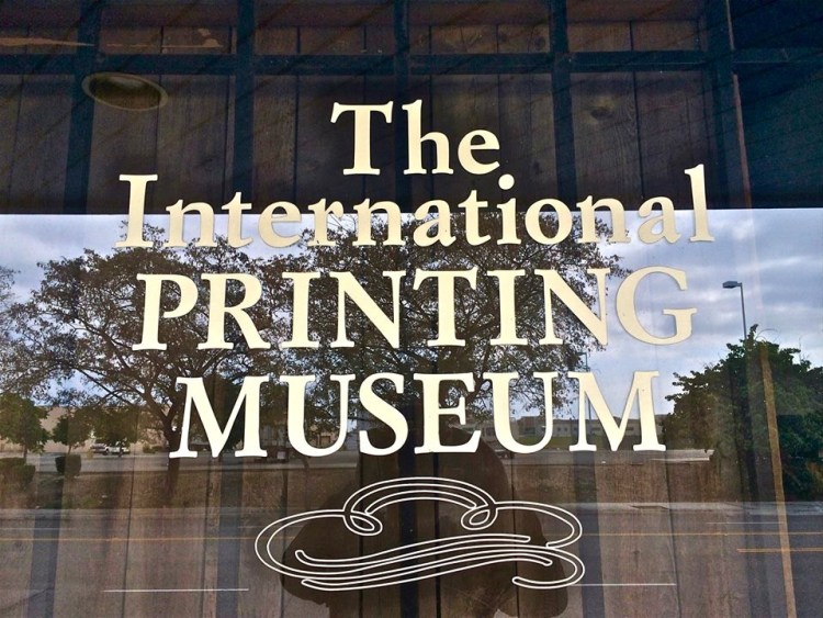 One of the best collections of antique printing machinery in the world.