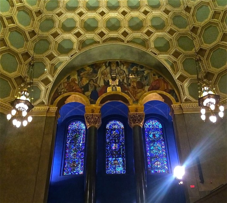 The $150 million is among the highest amounts ever spent on a synagogue renovation and the $50 million spent on the first phase, which included the Sanctuary, is breathtaking.