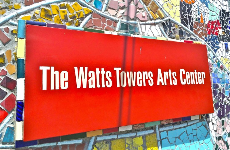 The Watts Towers Arts Center is an adjacent community arts center that was opened in 1970.