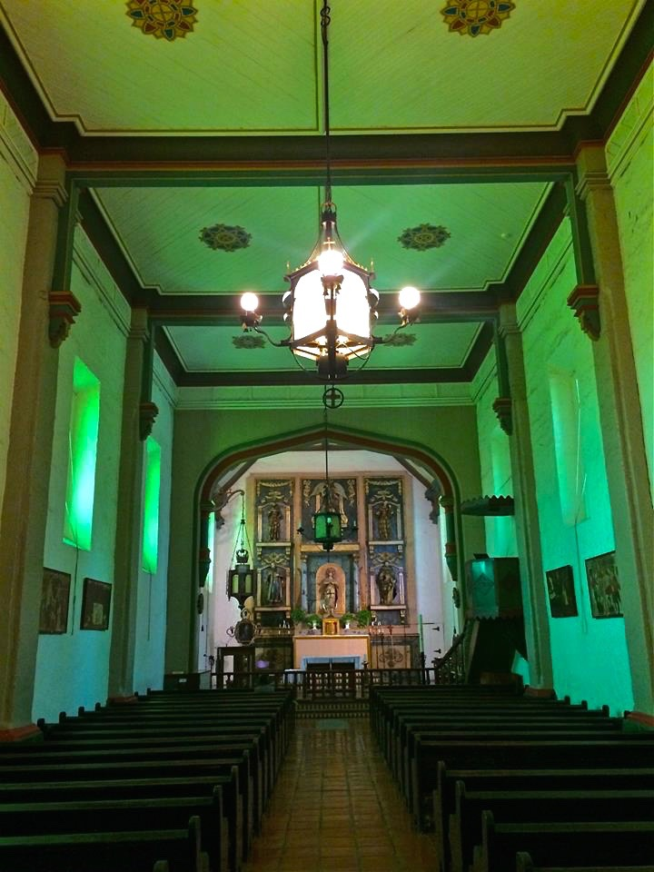 While the current building architecture dates back around 200 years, one of the mission gems is 300 years old. The painting, Our Lady of Sorrows, hangs in the sanctuary and its presence is a reminder of   legends such as one story that the native Tongvas who sought to drive away the Spaniards immediately made peace with the missionaries when they saw the inspirational painting and were moved its beauty.