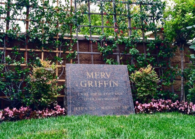 "Merv Griffin (1925-2007), ""I Will Not Be Right Back After This Message."