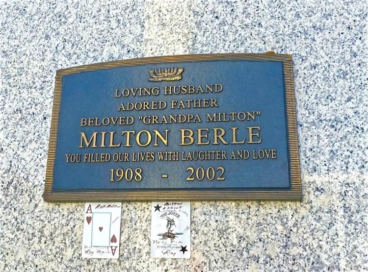 It's the original Mr. Big, Uncle Miltie!