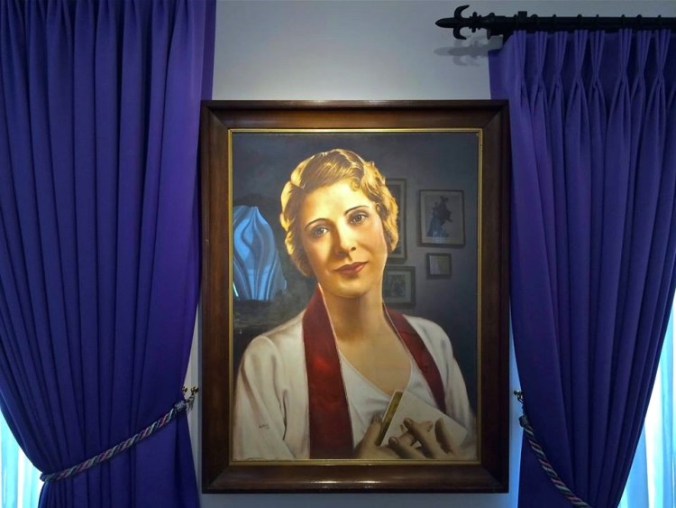 Aimee Semple McPherson (October 9, 1890 – September 27, 1944), also known as Sister Aimee, was a Canadian-American Los Angeles–based evangelist and media celebrity in the 1920s and 1930s who founded the Foursquare Church.
