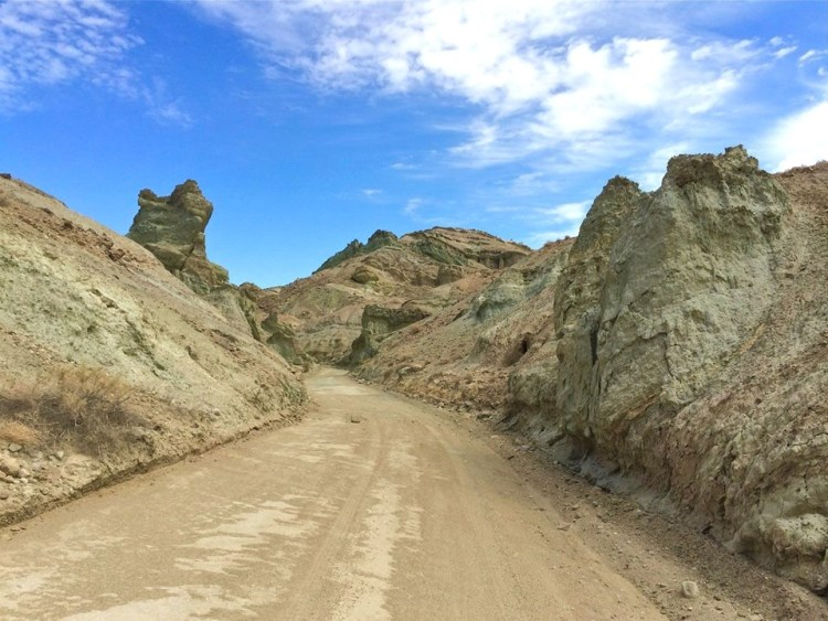 The narrow road through these incredible formations help create an amazing frame as you slowly drive through absorbing the beauty that appears after every hill or turn.