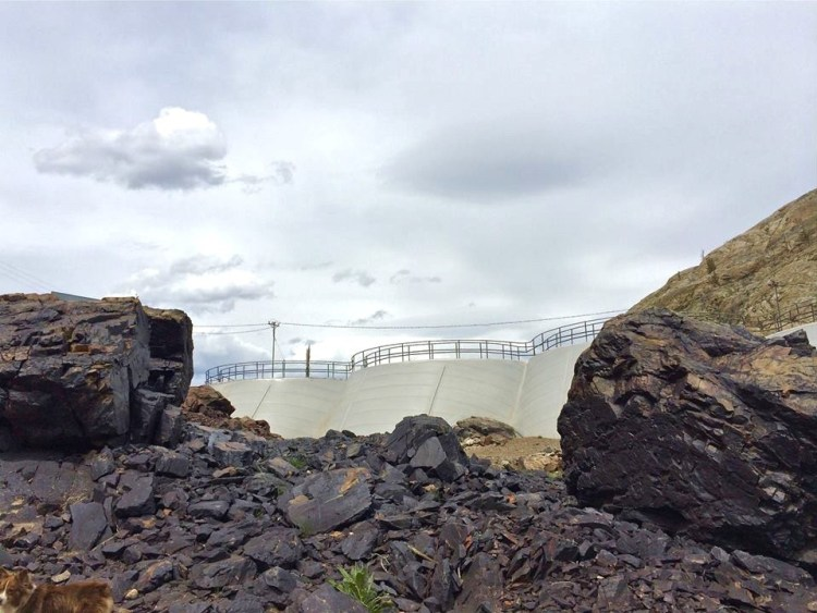 Obsidian Rock/Ivory Dam