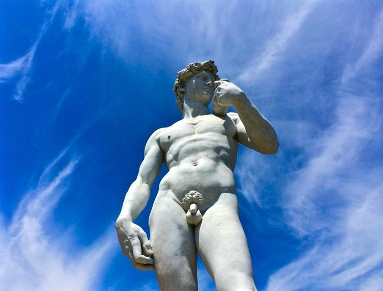 This cemetery is the only place in the world containing a complete collection of replica Michelangelo sculptures, which were made from castings taken from the originals and using marble from the same quarries in Carrara, Italy as used by Michelangelo.