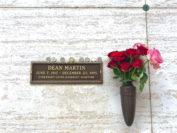"Dean Martin (1917-1995). A member of the Rat Pack (with Frank and Sammy), Dean started out his career partnered with Jerry Lewis in a number of 1950's film comedies. After Martin & Lewis broke up, he cultivated the image of a happy, sophisticated boozer, hosted his own TV variety show (""The Dean Martin Show"") for almost ten years, and starred in several 'Matt Helm' spy thrillers."