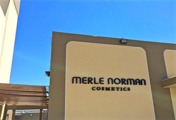 Who knew Merle Norman Cosmetics even existed anymore. Oh and ladies you'll be happy to know you're invited to shop in the company store at the conclusion of your tour.