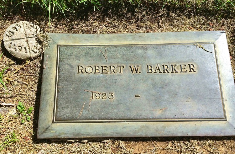 """To the north of Gene Autry's grave is a curiosity of sorts: a grave marker for a living celebrity! Who? Game show host Bob Barker, long-time star of """"The Price Is Right."""" The grave is empty - Bob is alive & well- but the marker is there and waiting - right next to the grave of Bob's late wife."""