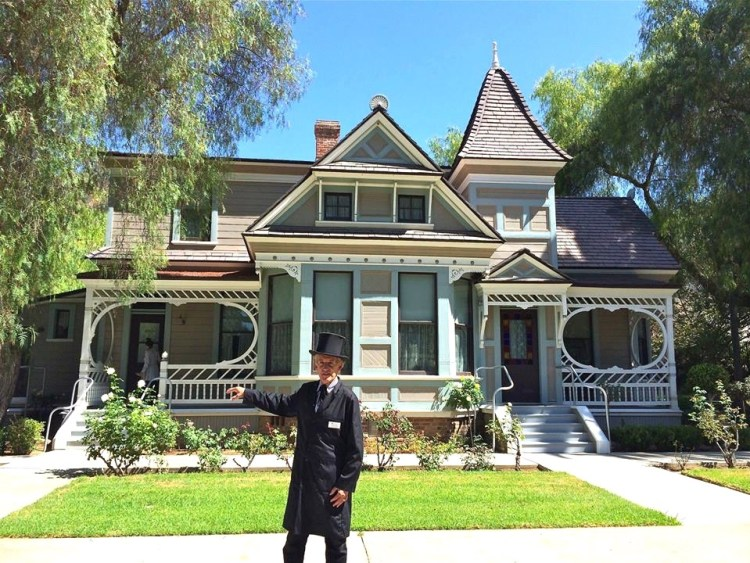 The Doctors House Museum is an authentically restored Queen Anne-Eastlake style home built around 1888. The two story house originally stood at 921 East Wilson Avenue in Central Glendale