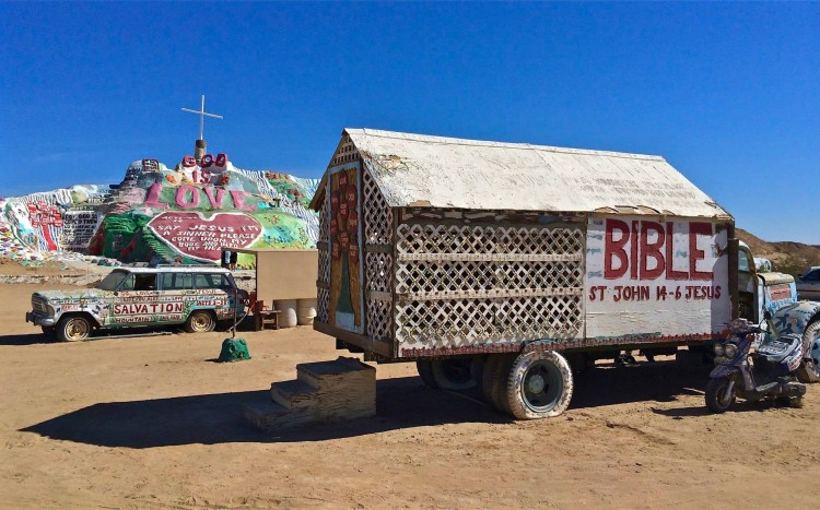 a public charity, Salvation Mountain, Inc., was established to support the project.