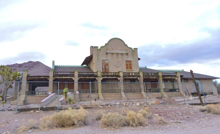 The Las Vegas & Tonopah Railroad Depot
