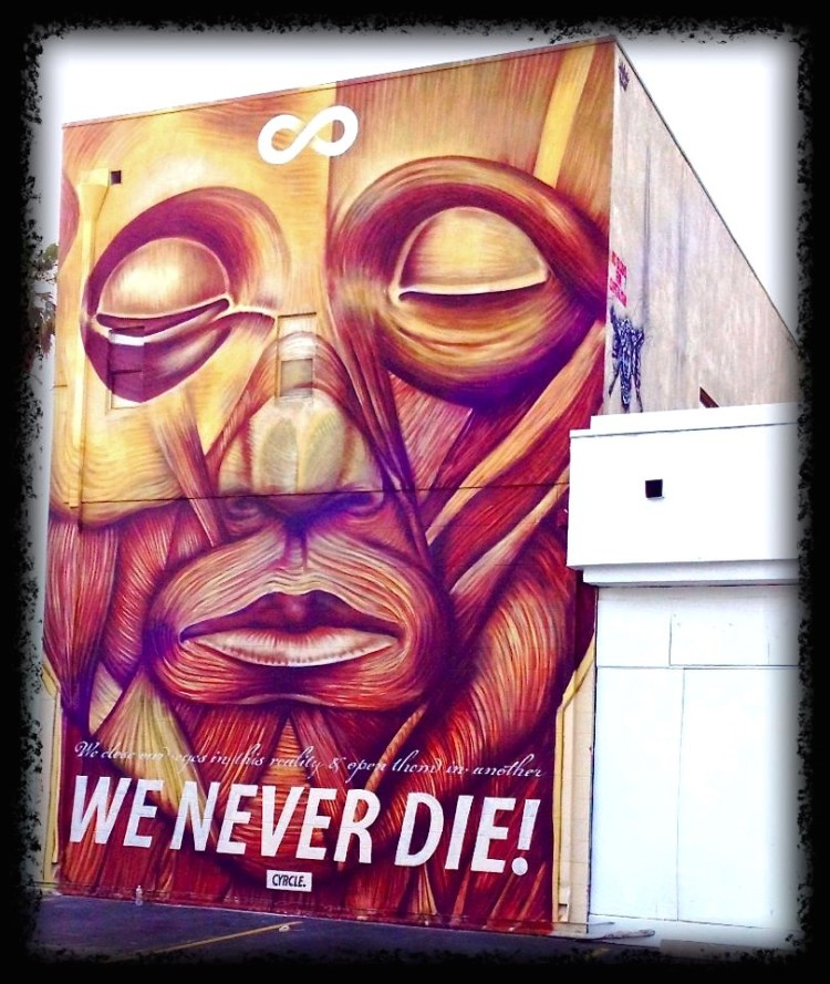 We Never Die CYRCLE x David Flores Branded Arts Building 8810 Washington Blvd. Culver City, CA 90232