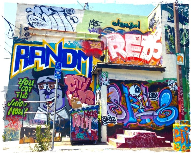 RANDM/You Got The Juice Now Various LA City Parking Lot on South Avenue 57 Highland Park, LACA, Highland Park, LACA