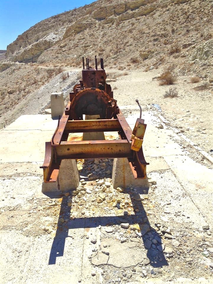 The mine was in operation from 1923-1947.