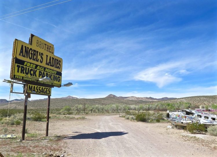 Travelers heading north along Highway 95 outside of Beatty will probably notice the big ye