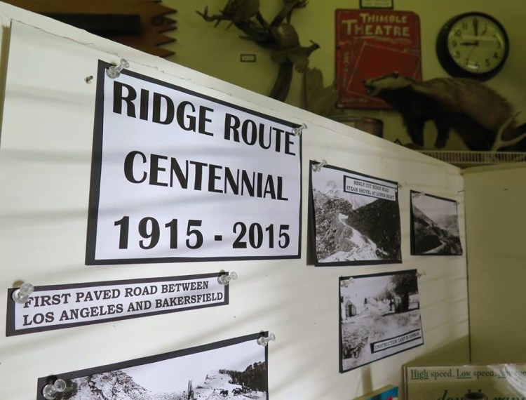 The museum is dedicated to collecting and preserving the history and artifacts in the mountains south of Bakersfield and north of Castaic along the historic Ridge Route.