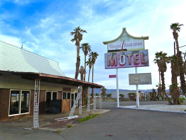 So who wants to buy a motel?